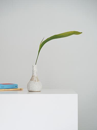 フランス 陶器製フラワーベース 花器 Modern Ceramic Vase from France