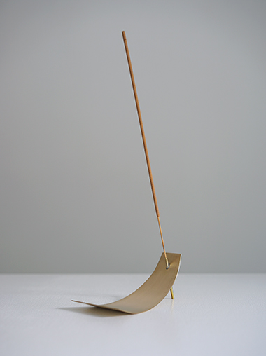 APOTHEKE アポテーケフレグランス 真鍮 インセンススタンド お香立て Brass incense stand by APOTHEKE FRAGRANCE