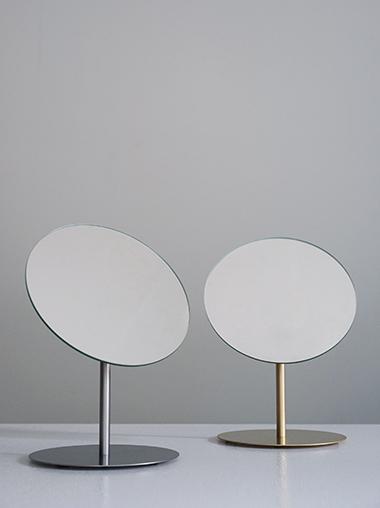 BP. 真鍮 ステンレス メイクアップミラー BP. Makeup Mirror Brass / Stainless