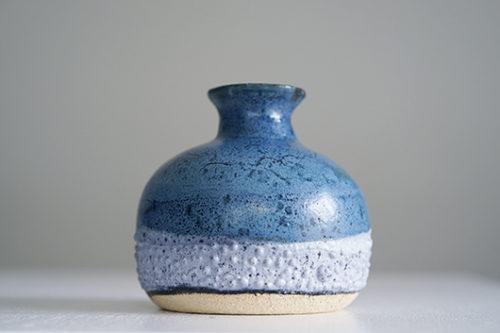 フランス 陶器製フラワーベース 花器