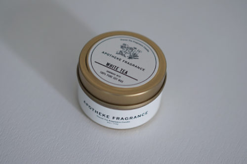 APOTHEKE FRAGRANCE アポテーケフレグランス アロマソイワックスキャンドル 大豆油