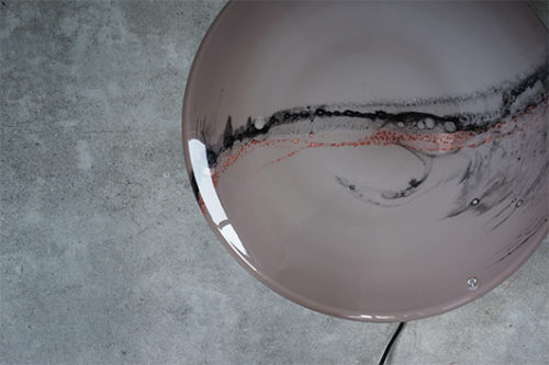 Peill & Putzler ヴィンテージ ガラス ブラケットランプ 壁掛け照明