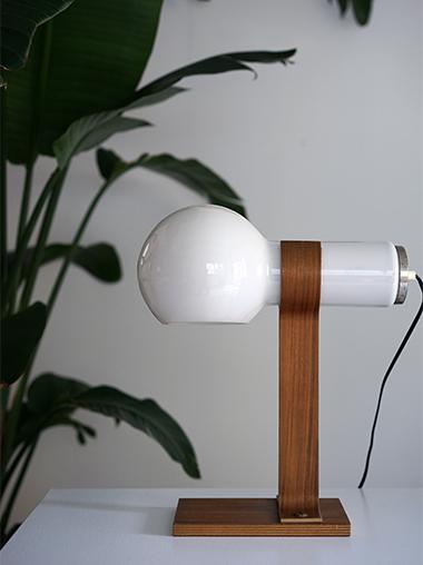 北欧ヴィンテージモダンガラステーブルランプ照明 Vintage