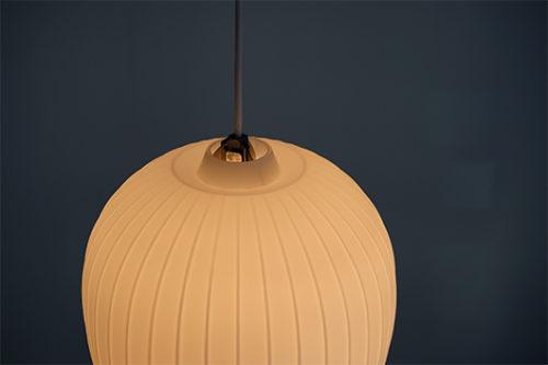 Peill & Putzler ヴィンテージモダンガラスペンダントライト照明