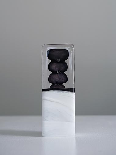 フランス クリスタルガラス製アートオブジェ Lise Gonthier