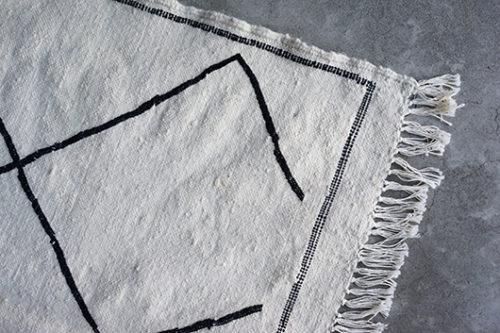ボンシックモロッコ キリムベニワレンラグ