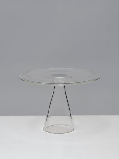 clear b ガラス インセンススタンド Glass Incense Plate  by clear b