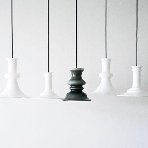 Holmegaard ホルムガード 照明 ペンダントランプ ライト ヴィンテージ