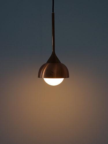 ドイツ ヴィンテージ 照明 ペンダントランプ カッパー